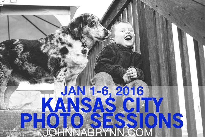 kansas city photographer offers New Year 2016 photo sessions